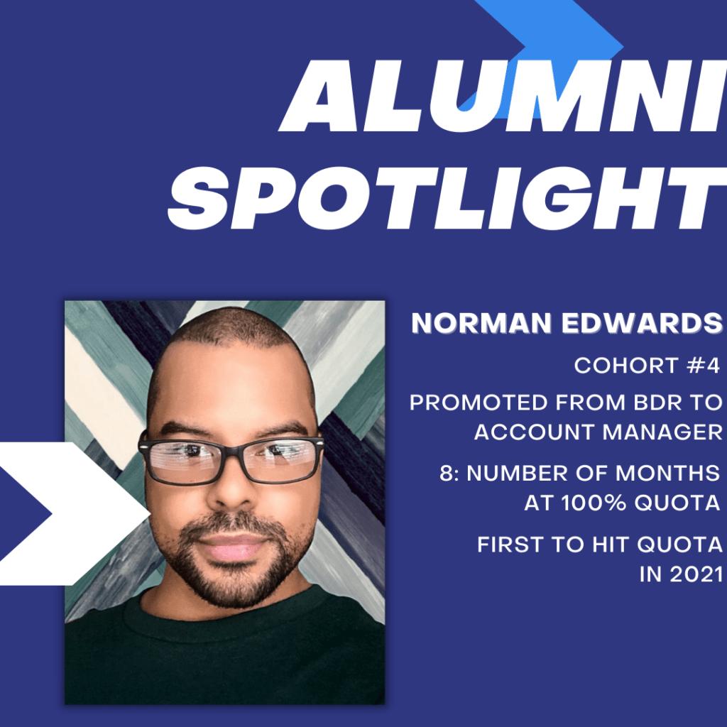 Victory Lap Alumni Spotlight: Norman Edwards